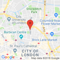Central London Google Map.Serviced Offices To Rent And Lease At 130 Old Street Central London