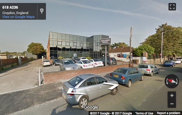Street View image of Challenge House, 616 Mitcham Road, Croydon, Surrey
