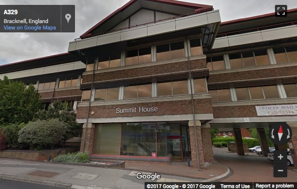 Street View image of Summit House , London Road, Bracknell Forest, Bracknell, Berkshire
