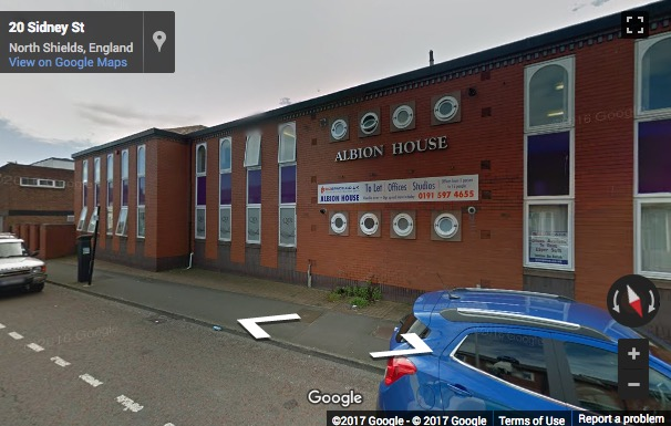 Street View image of Albion House, West Percy Street, North Shields, Tyne and Wear, United Kingdom