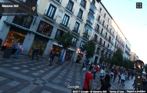Street View image of C/ Arenal 18 Primera Planta, Madrid, Spain
