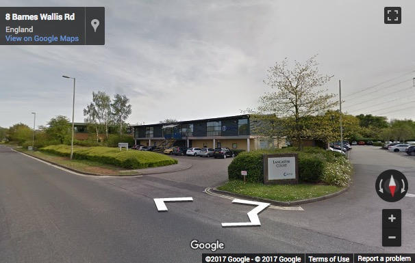 Street View image of Lancaster Court, 8 Barnes Wallis Road, Fareham, Hampshire