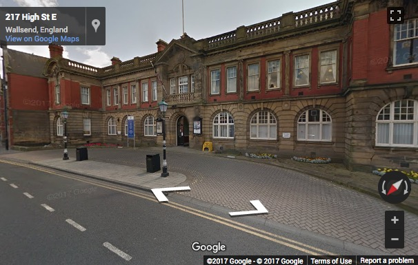Street View image of The Town Hall, High Street East, Wallsend, Newcastle, Tyne and Wear