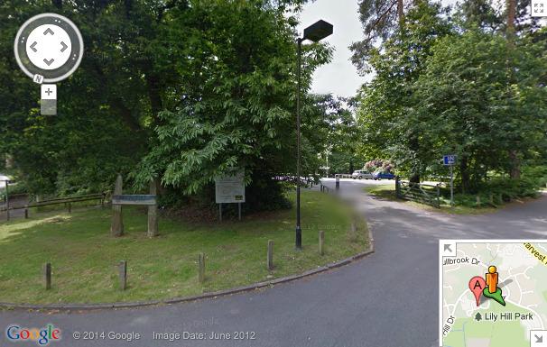 Wick Hill Car Park Bracknell